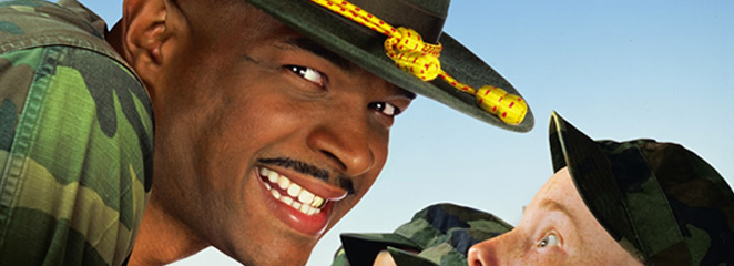 Behind-the-scenes of Major Payne Part 1 Meeting Damon Wayans